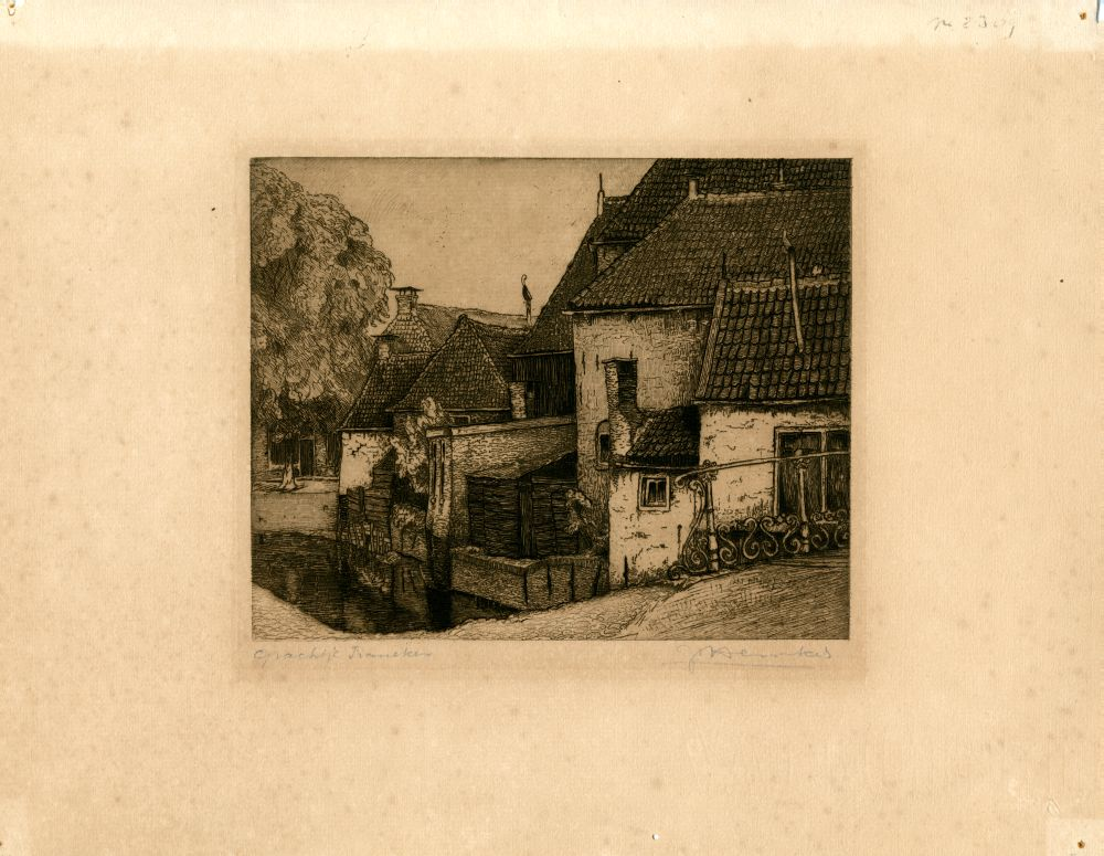 Ets van de Godsacker in Franeker door Johan Hemkes