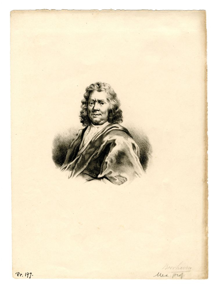 Portret van Hermanus Boerhave
