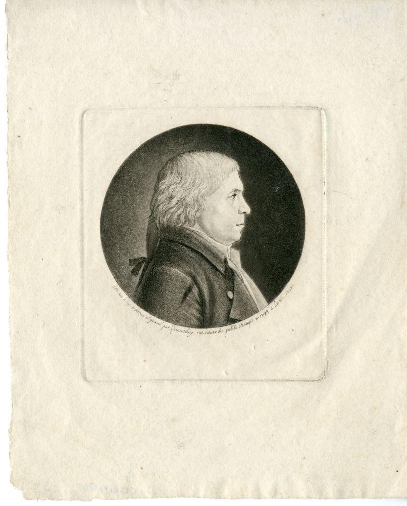 Portret van A.G. Camper door Zuendey