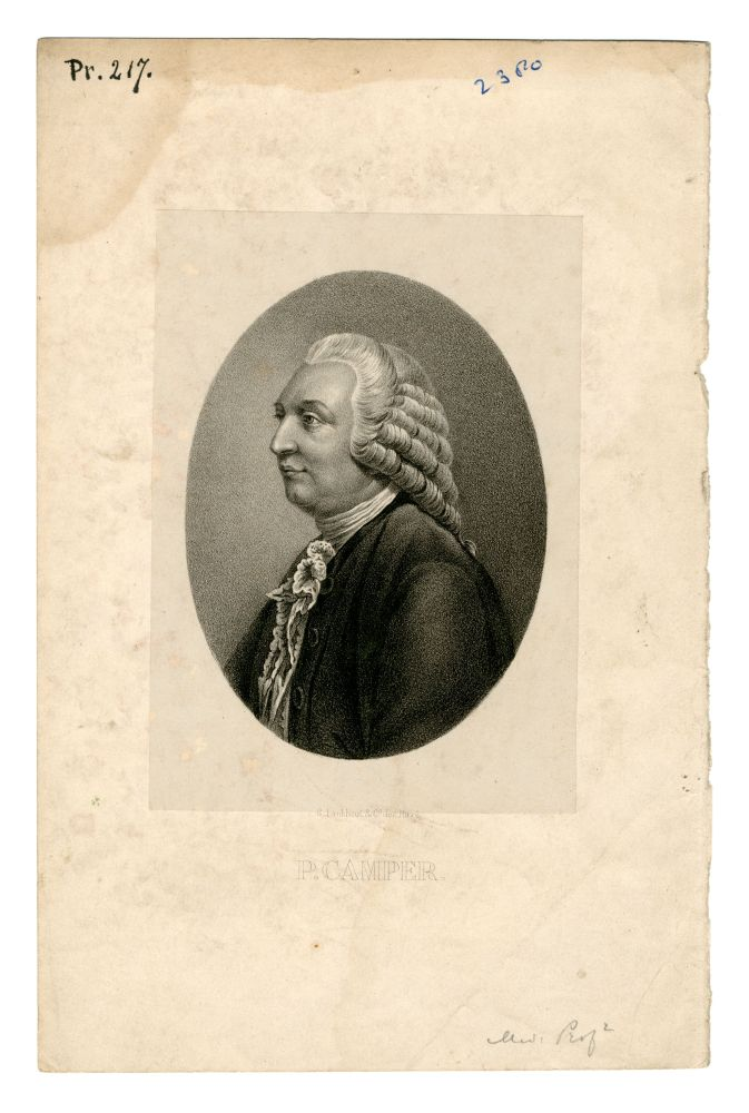 Portret van Petrus Camper