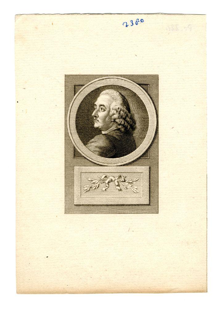 Portret van Petrus Camper door Rein Vinkeles