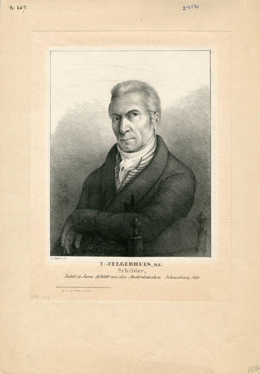 Portret van Johannes Jelgerhuis