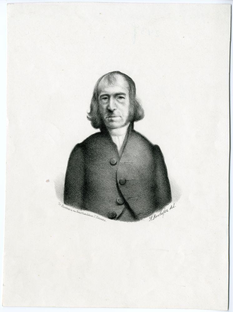 Portret van H. Manger door H. Roelofsz