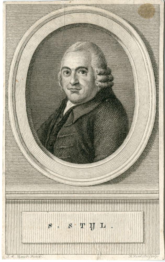 Portret van S. Stijl door Rein Vinkeles