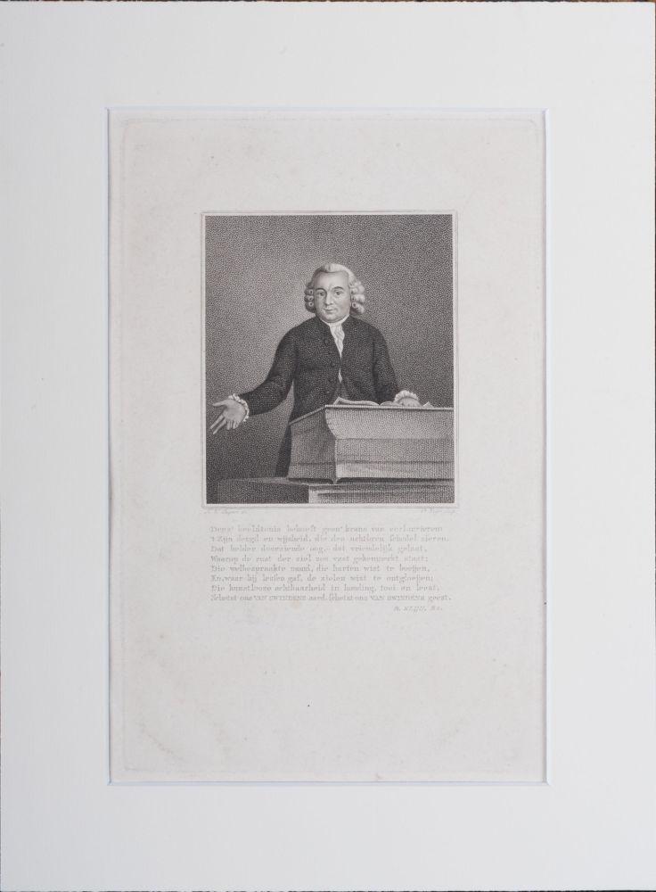Portret van J.H. van Swinden door P. Velijn