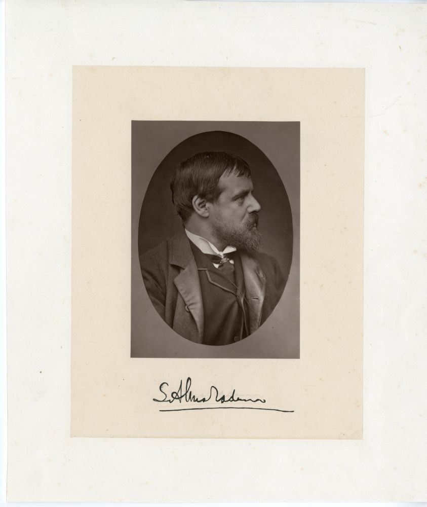 Portretfoto van S. Alma Tadema