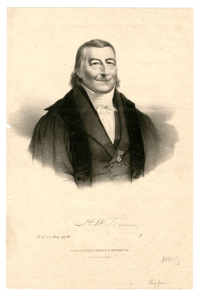 Portret van H.W. Tydeman door L. Springer