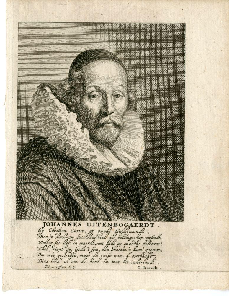 Portret van Johannes Uytenbogaerdt