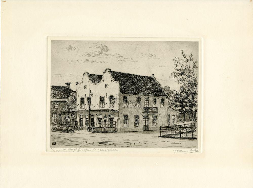 Ets van de Bogt fen Guné in Franeker door Johan Hemkes