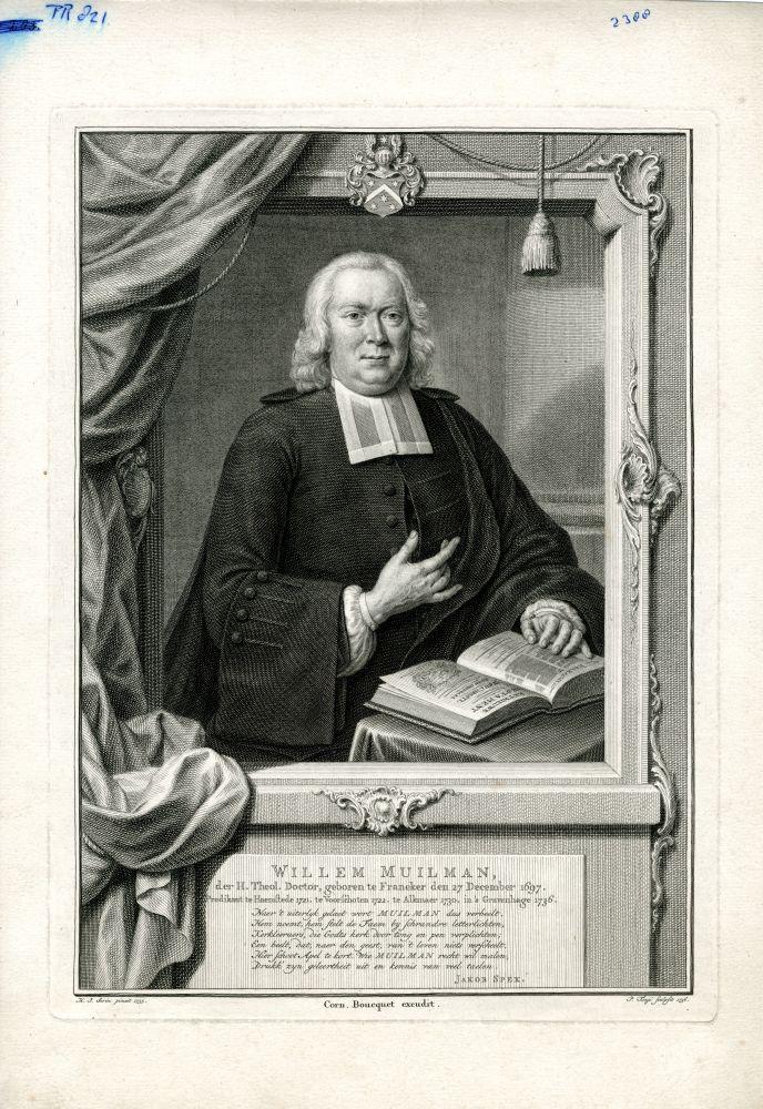 Portret van Willem Muilman door P. Tanje