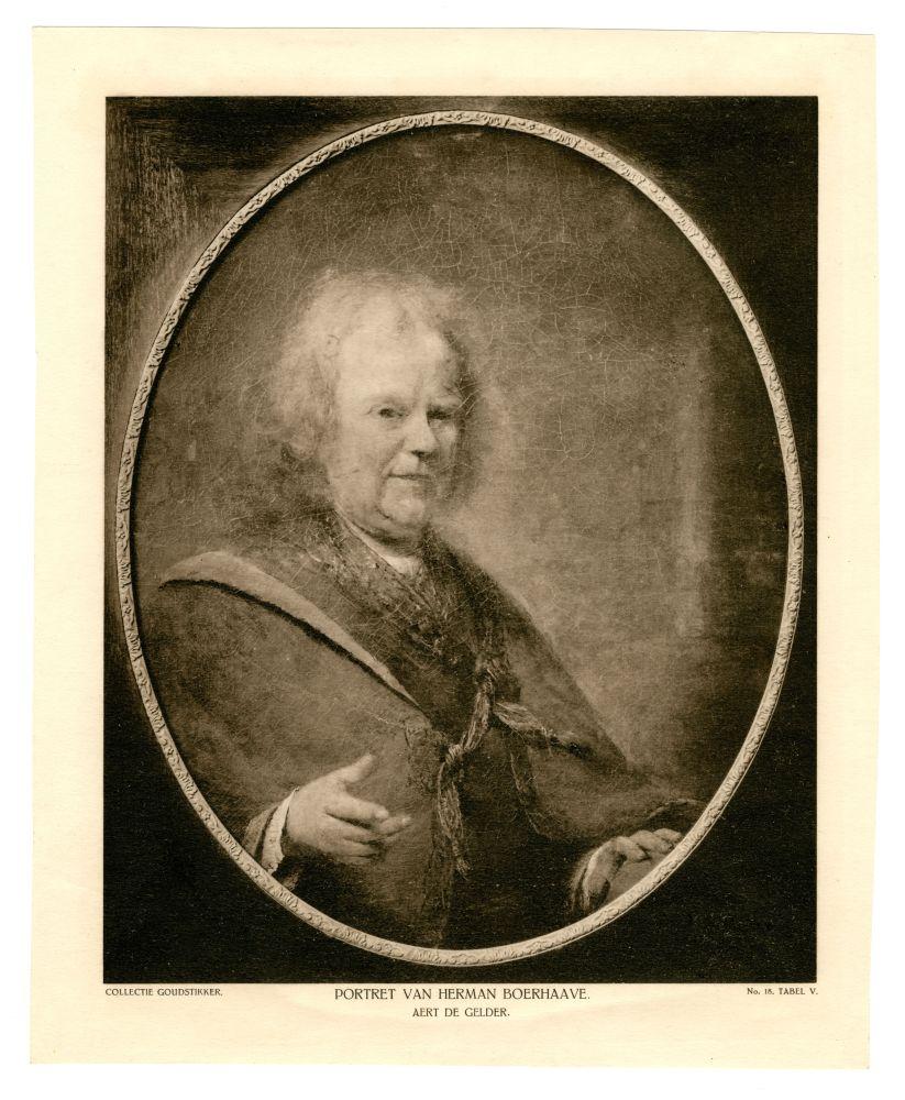Portret van Herman Boerhave door Aert de Gelder