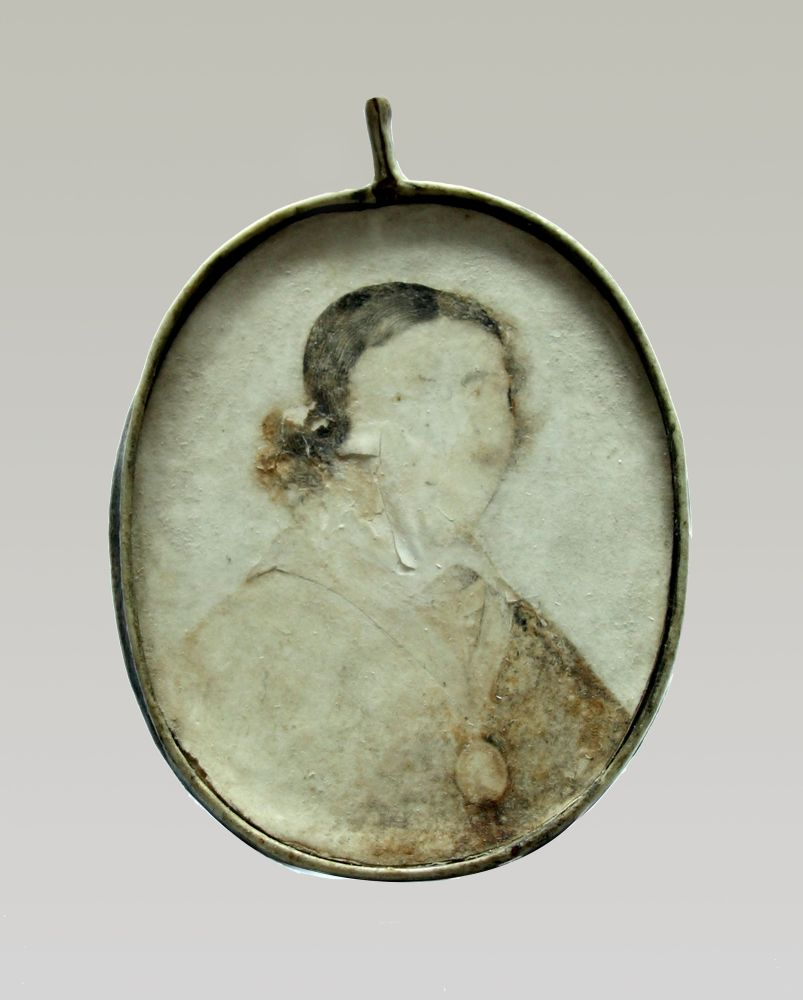 Portret in gouache van Jean de Labadie