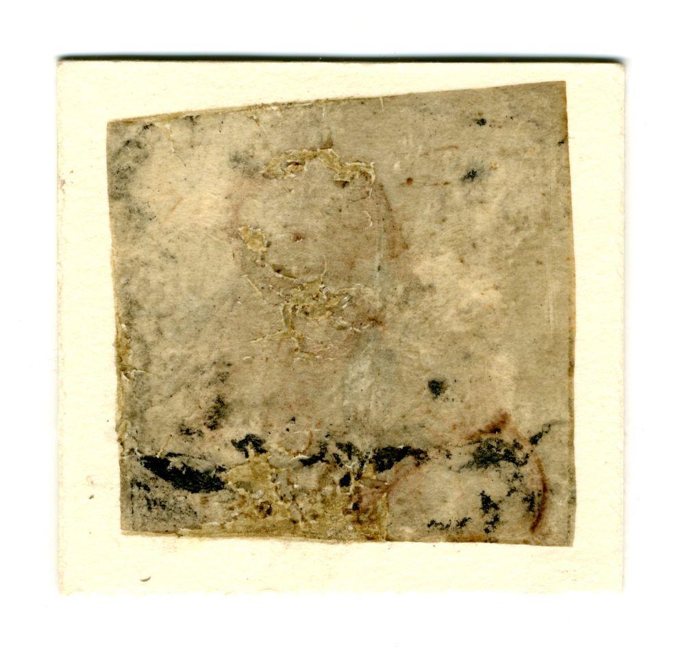Portret in zilverstift of potlood van een onbekende dame