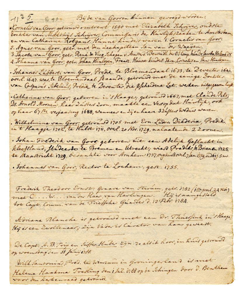 Genealogie van de familie Van Schurman door P.R. Reddingius