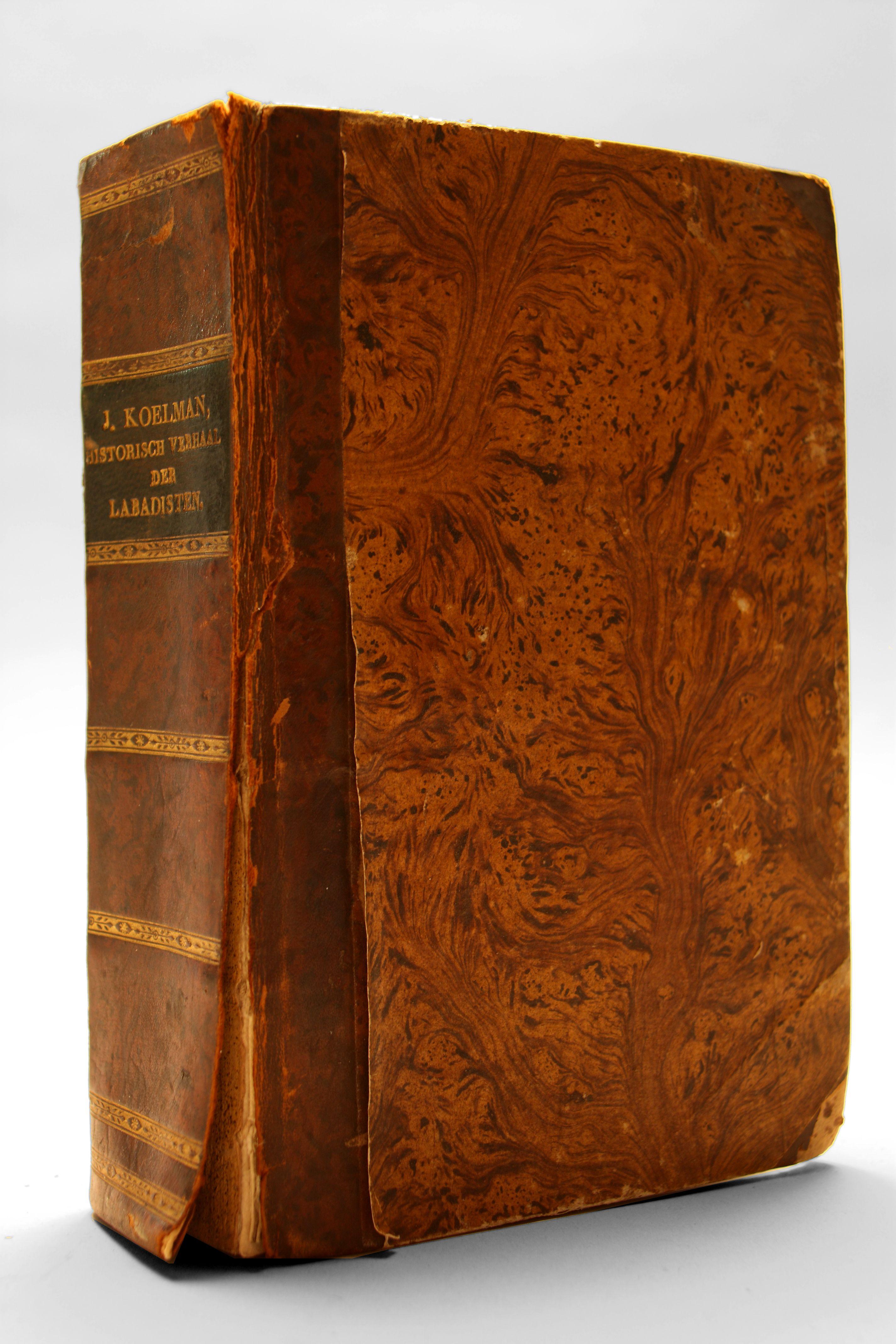 'Historisch verhaal nopens der Labadisten scheuring en veelerley dwalingen, met de wederlegginge derzelver', door Jacobus Koelman