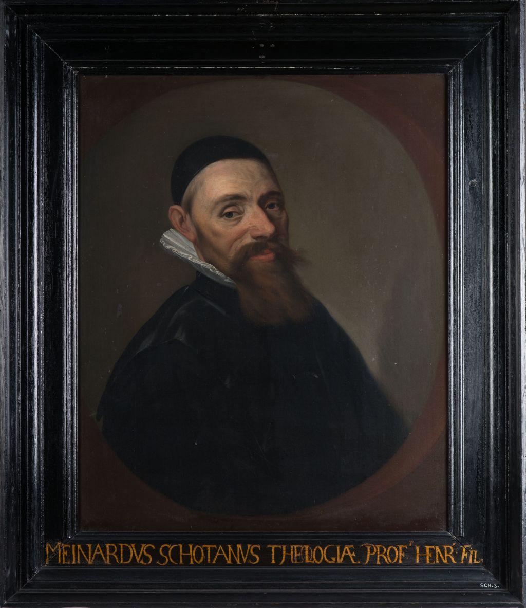 Portret van Meinardus Schotanus