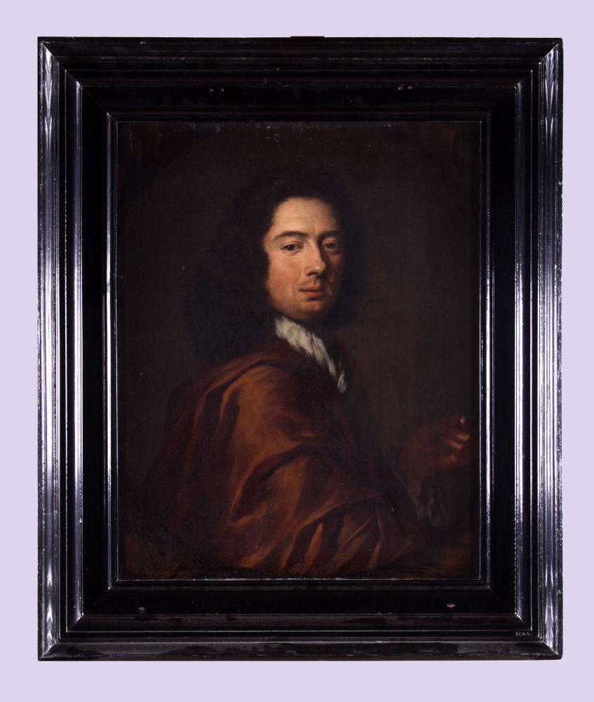 Zelfportret van Arnold Houbraken