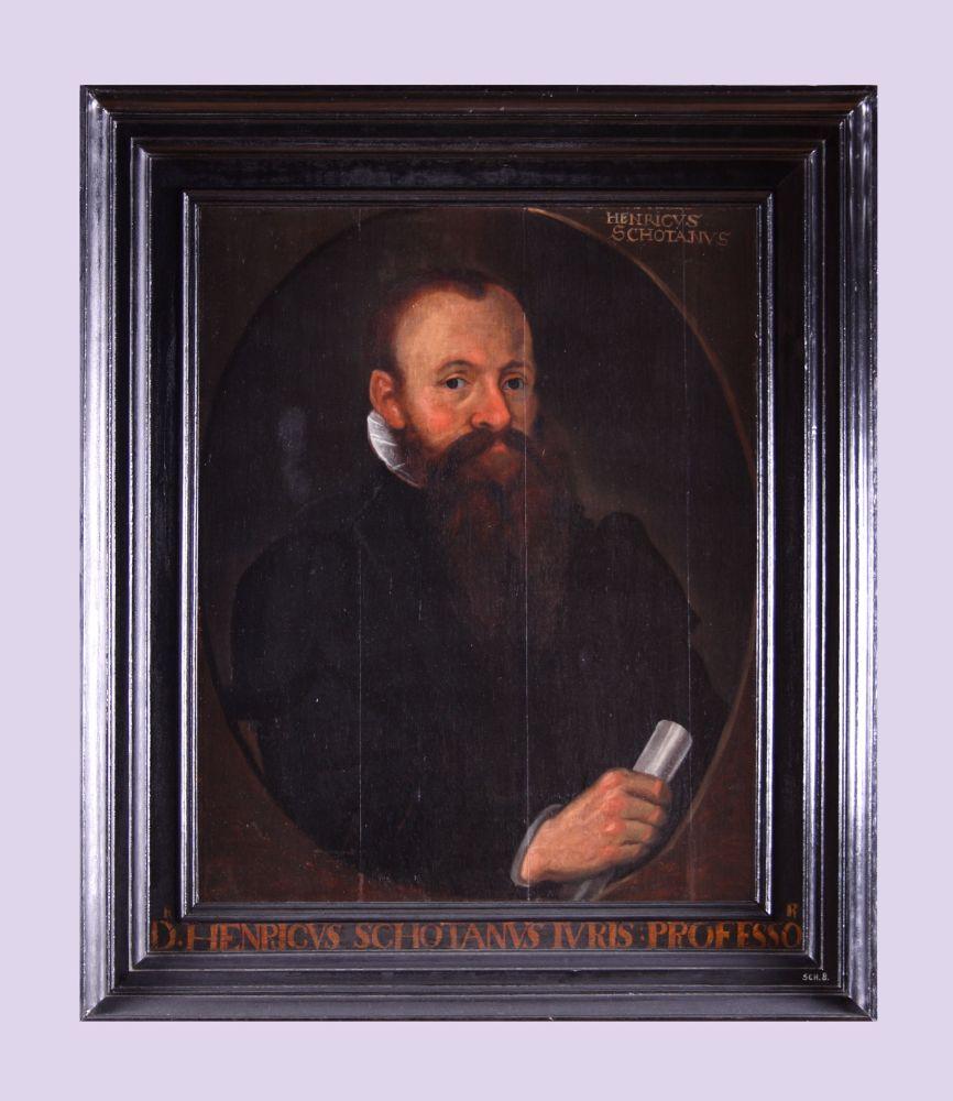 Portret van Henricus Schotanus