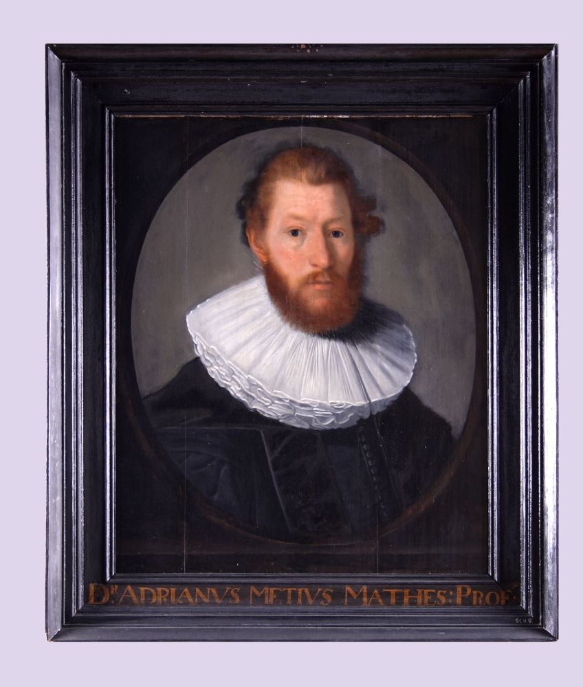 Portret van Adriaan Metius