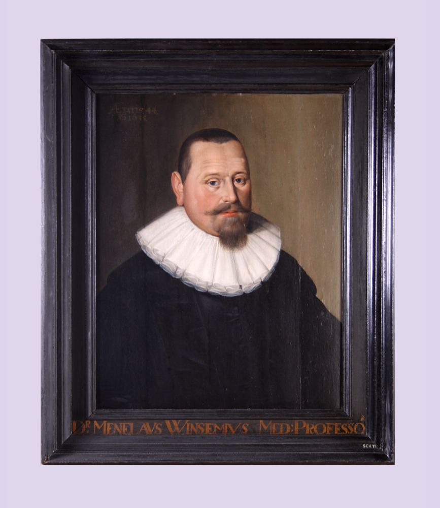 Portret van Menelaos Winsemius