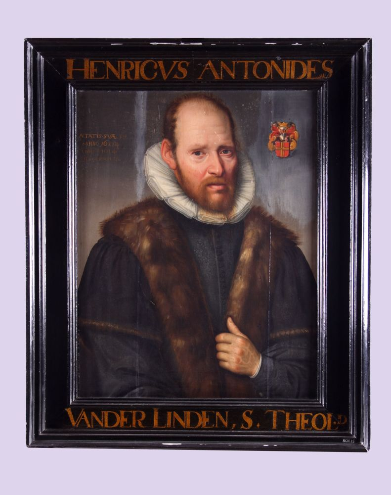 Portret van Henricus Antonii Nerdenus