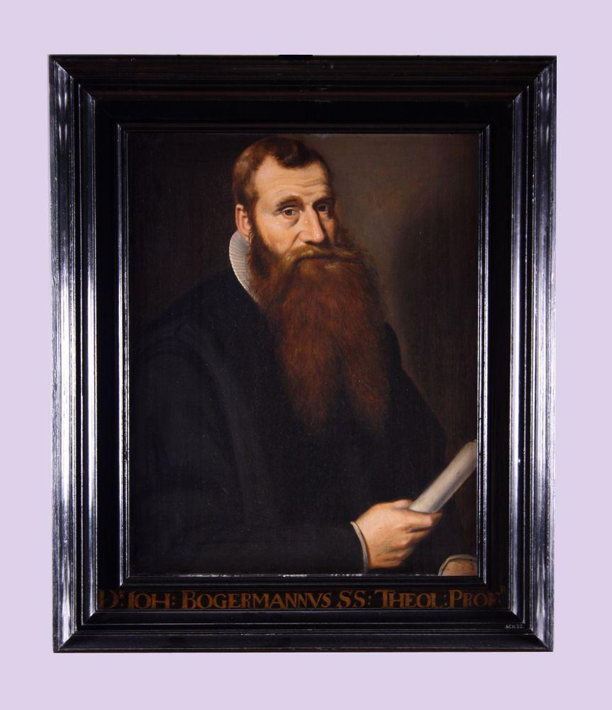 Portret van Johannes Bogerman