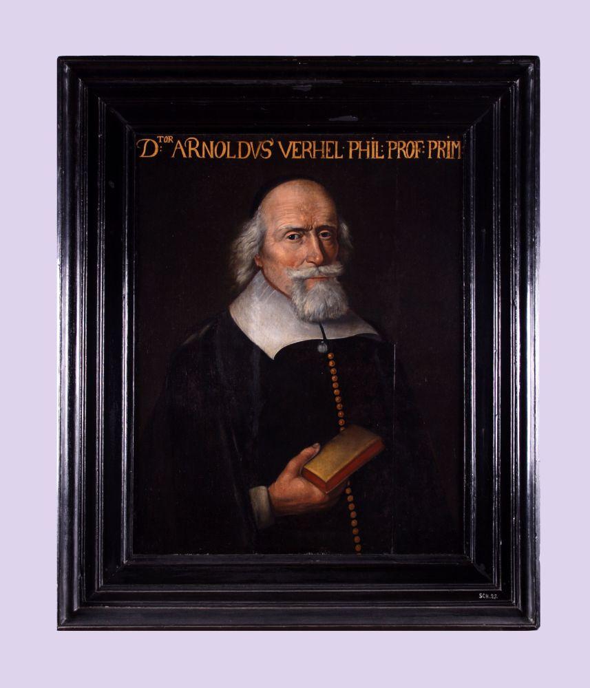Portret van Arnoldus Verhel door Pieter Schick