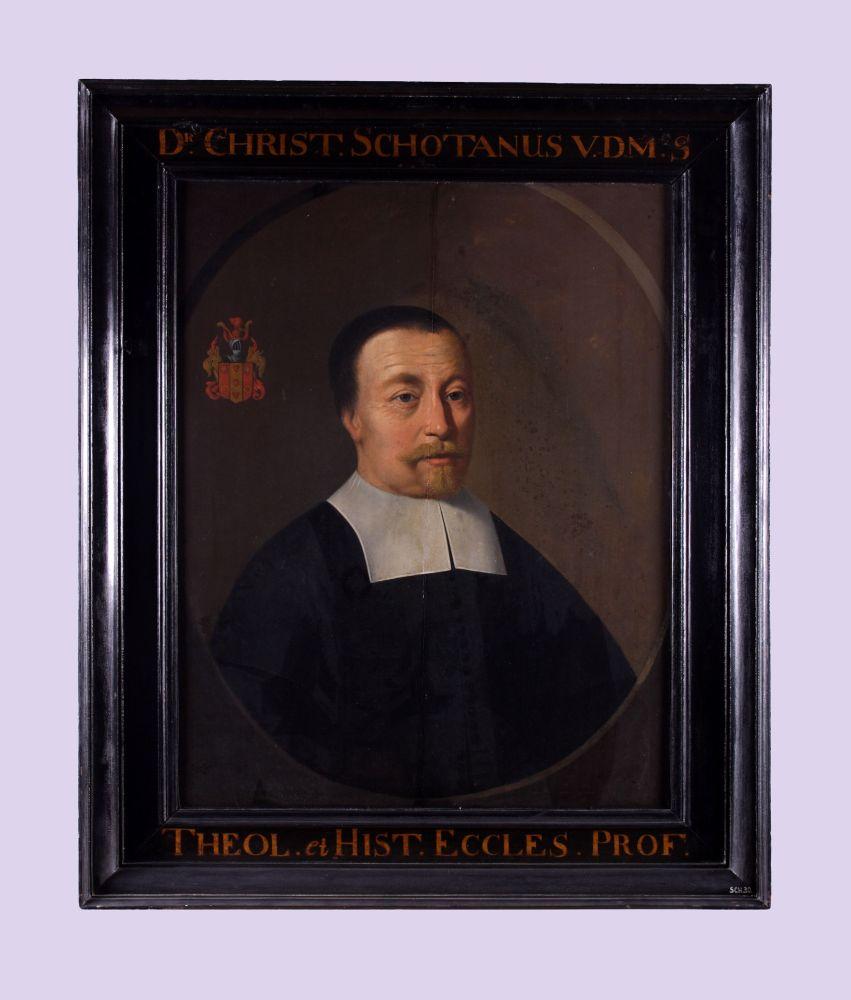 Portret van Christianus Schotanus à Sterringa