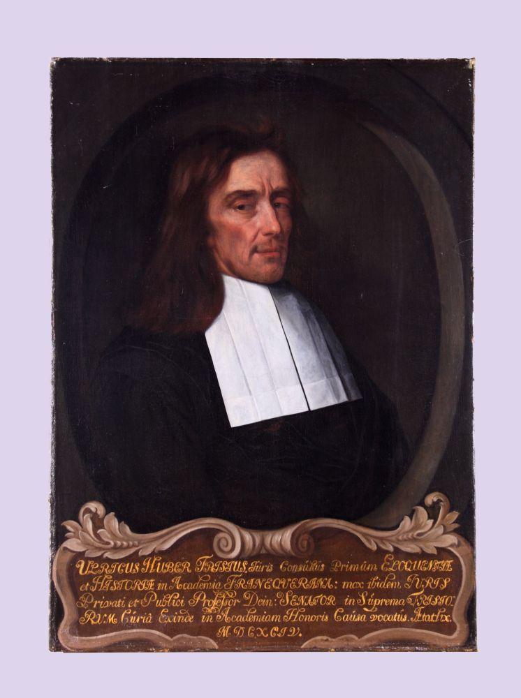 Portret van Ulrik Huber