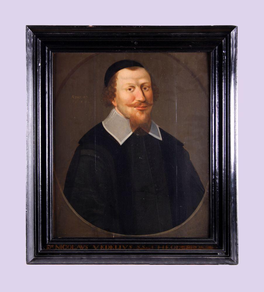 Portret van Nicolaas Vedelius