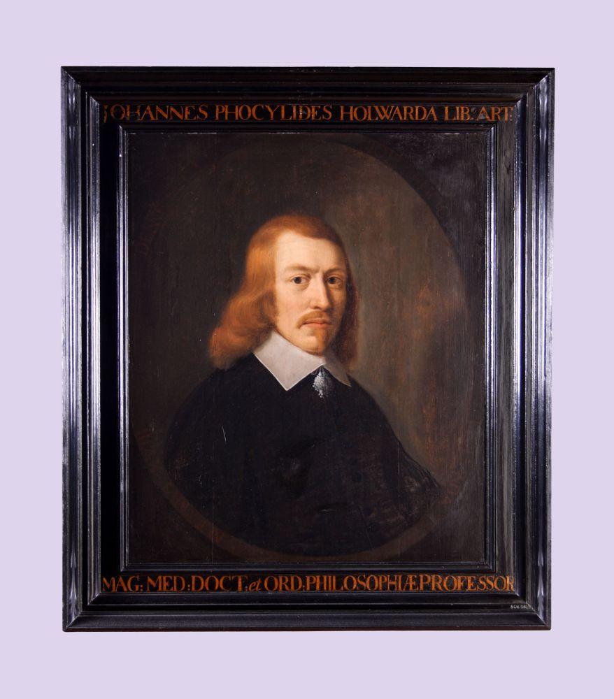Portret van Johannes Phocylides Holwarda