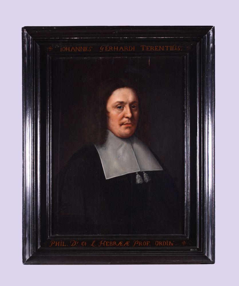 Portret van Johannes Gerhardi Terentius