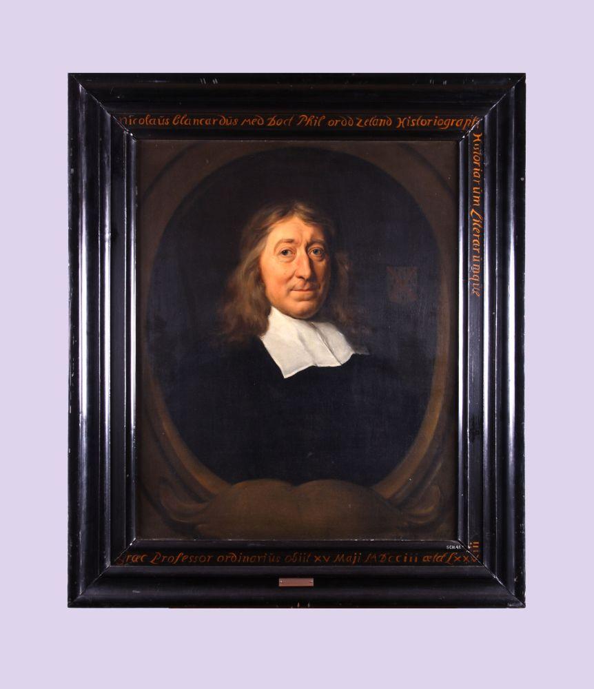 Portret van Nicolaus Blancardus door David van der Plaets