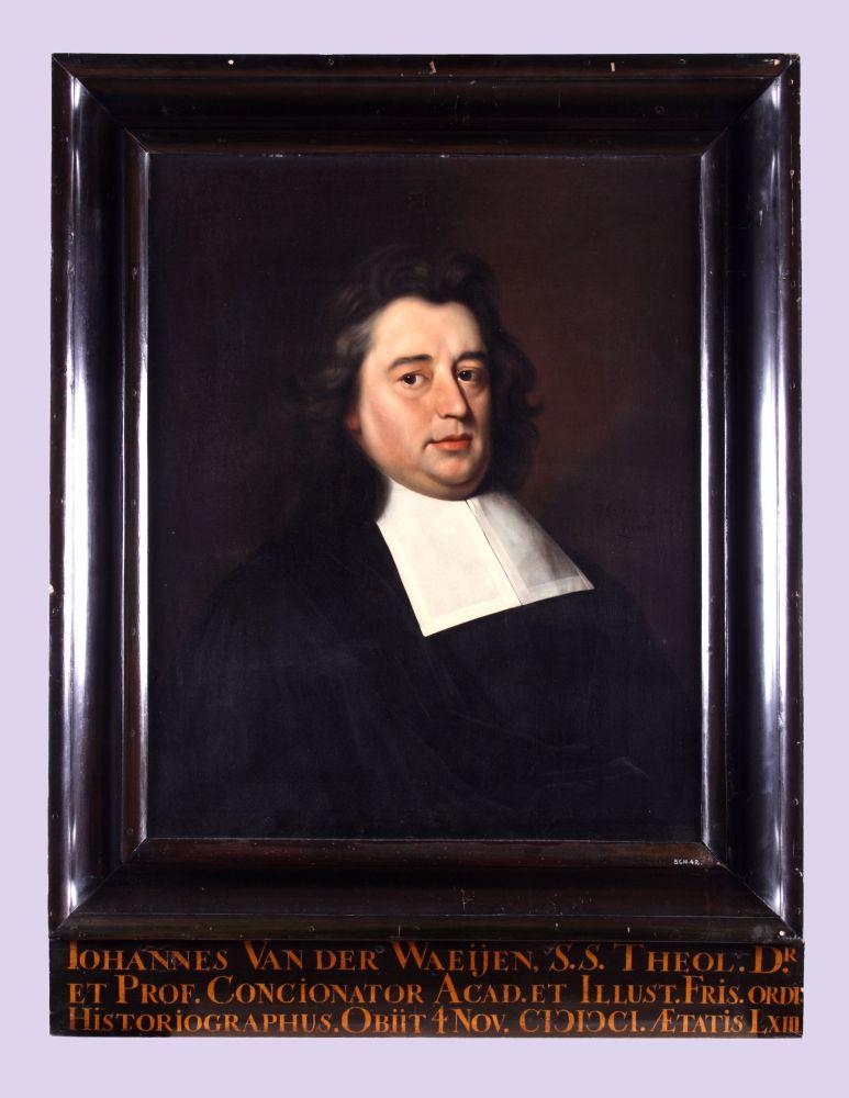 Portret van Johannes van der Waeijen sr. door Hendrick de Valk