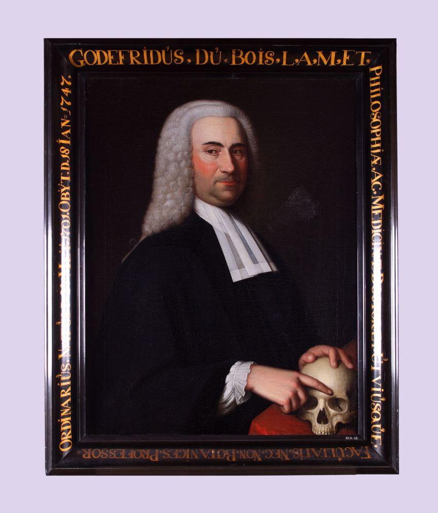 Portret van Godefridus du Bois door Bernardus Accama