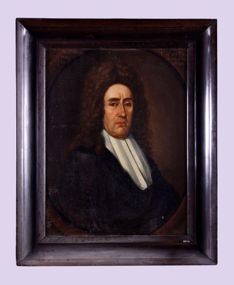 Portret van Bernardus Fullenius jr.