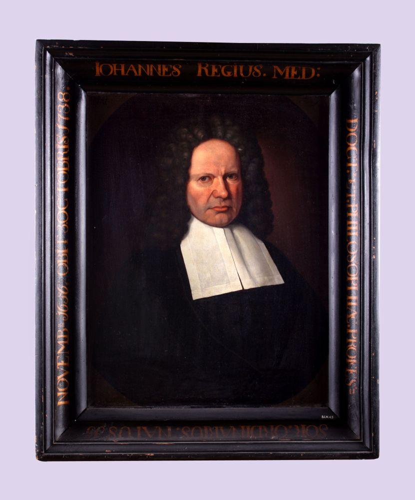 Portret van Johannes Regius door Hendrick de Valk