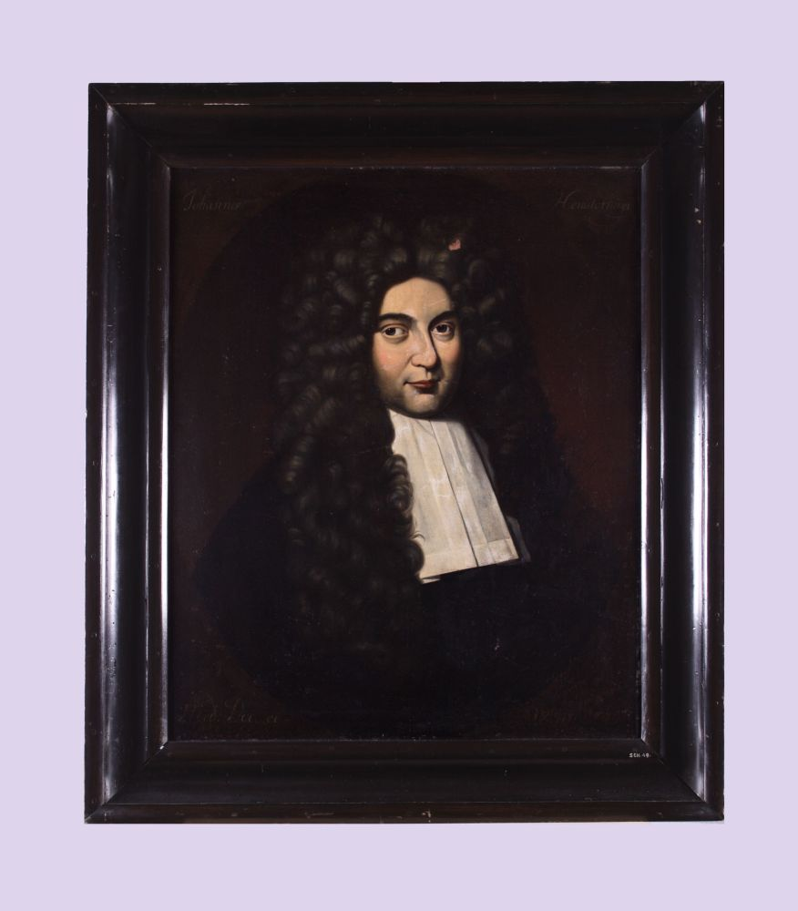 Portret van Johannes Hemsterhuis door Hendrick de Valk
