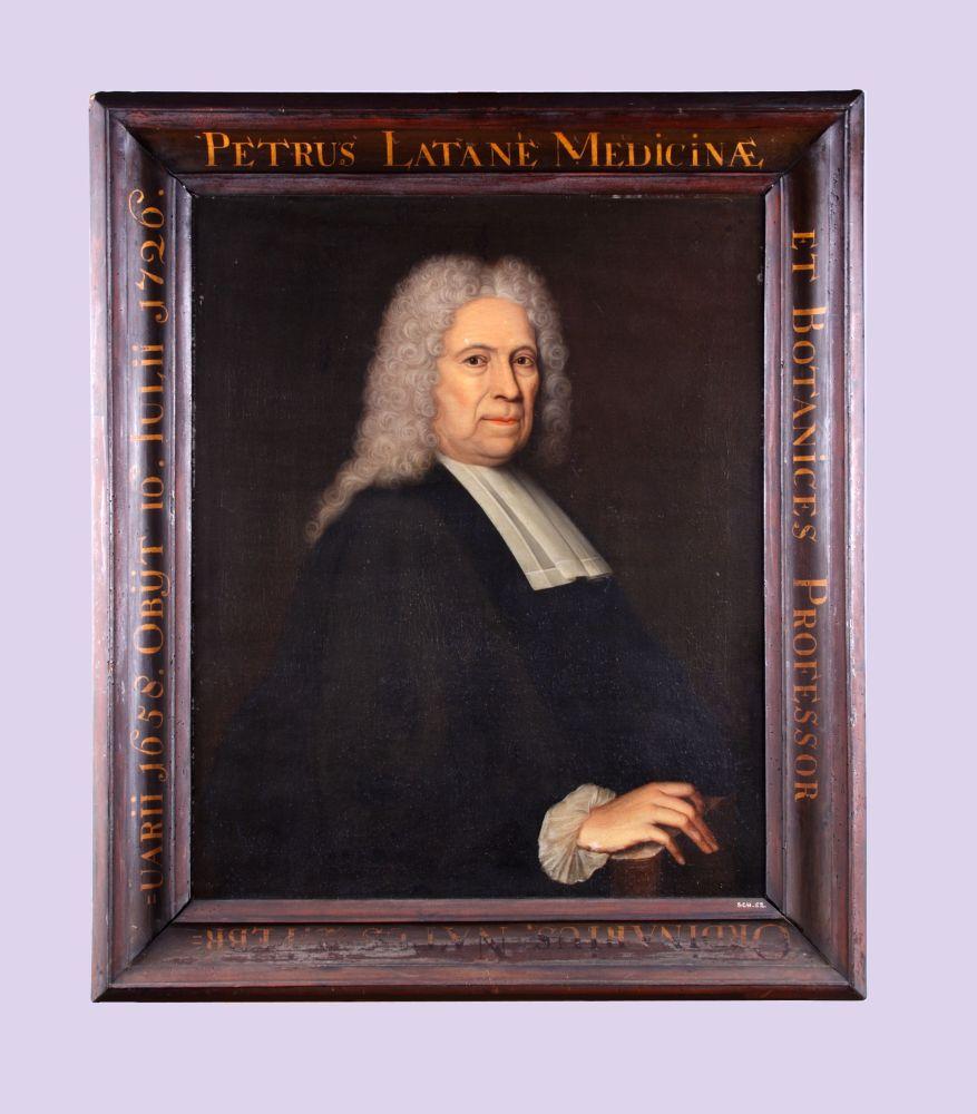 Portret van Petrus Latané door Bernardus Accama