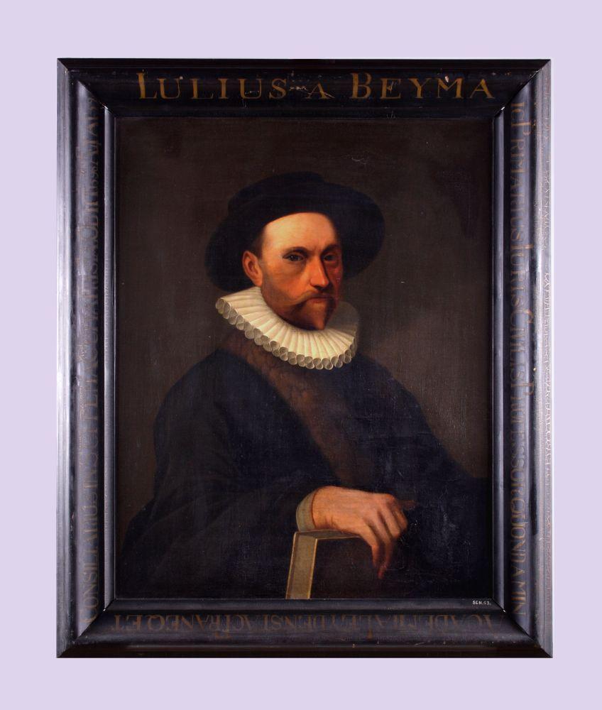 Portret van Julius à Beyma door Matthijs Accama