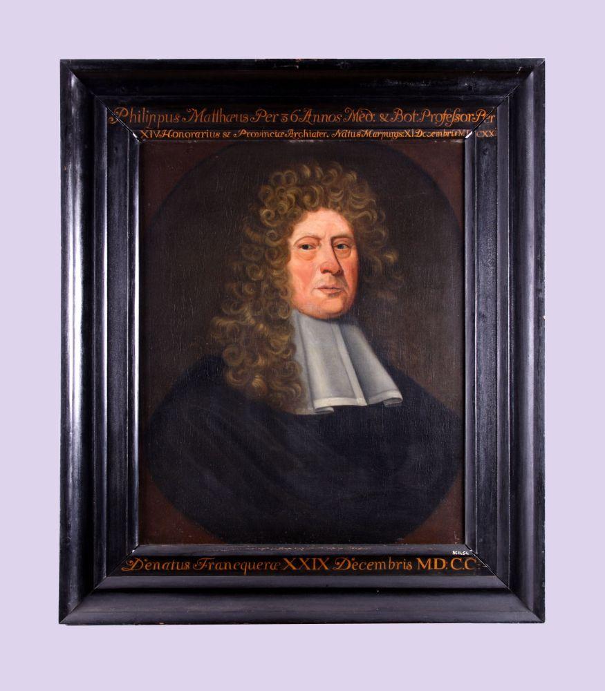 Portret van Philippus Matthaeus