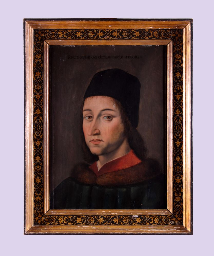 Portret van Rudolf Agricola