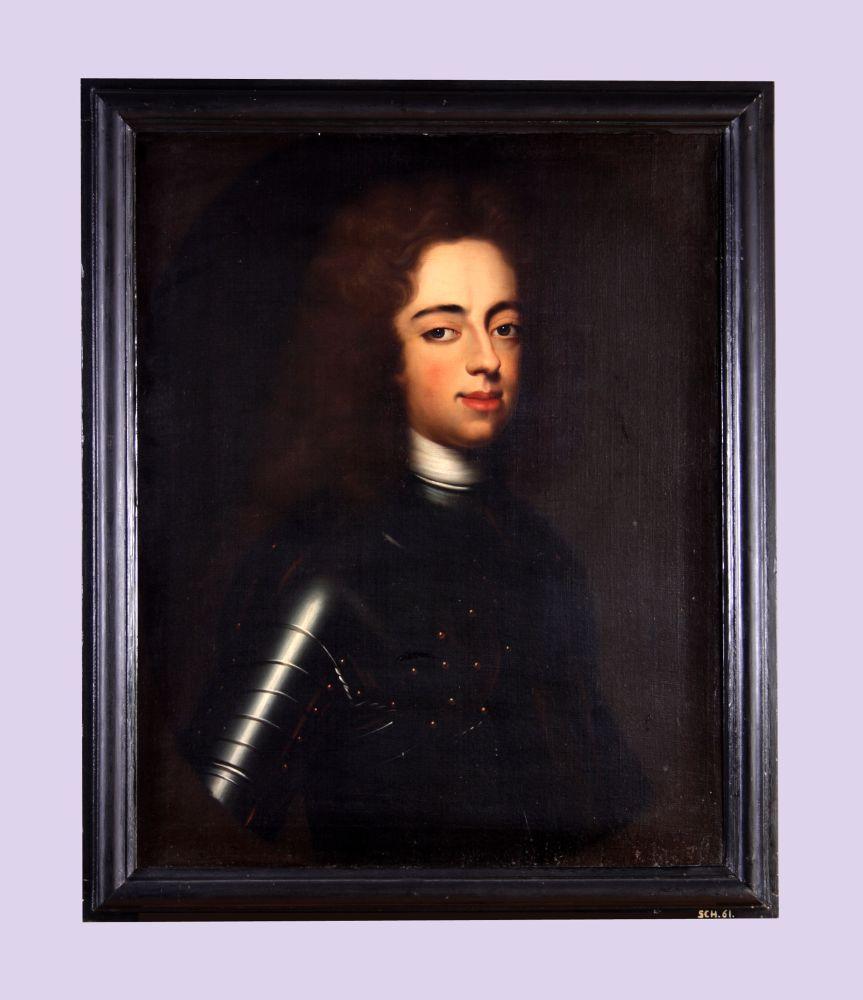 Portret van Johan Willem Friso door Bernardus Accama