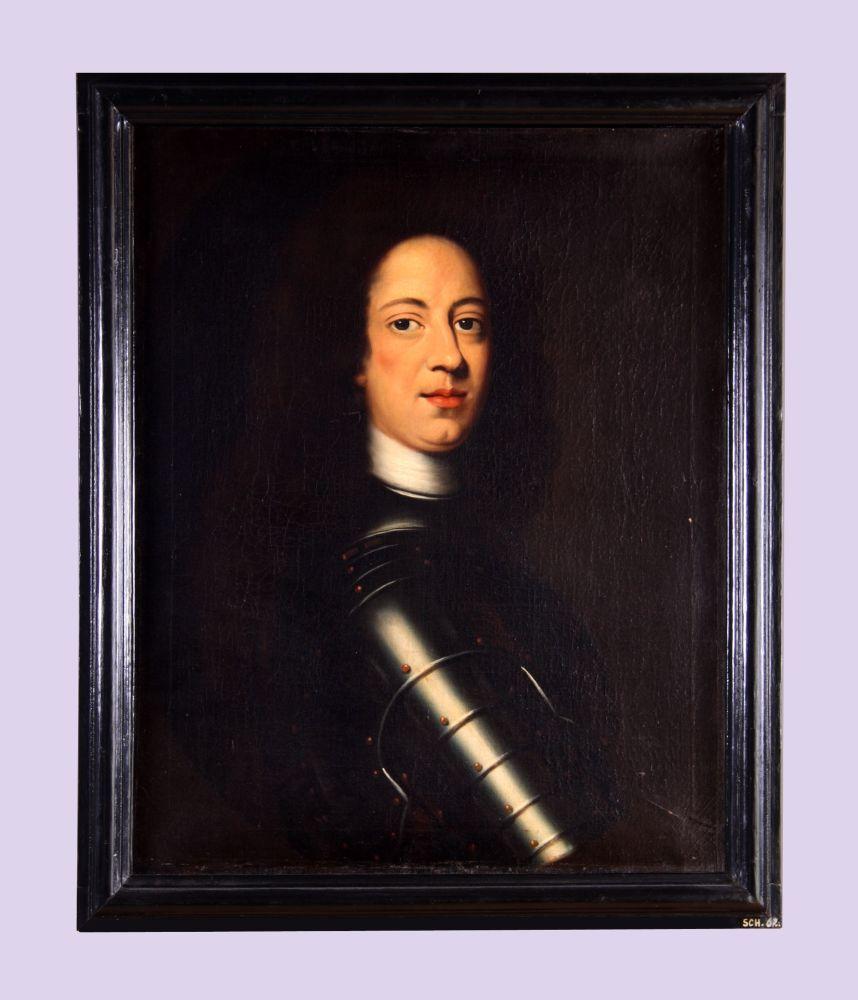 Portret van Hendrik Casimir II door Bernardus Accama