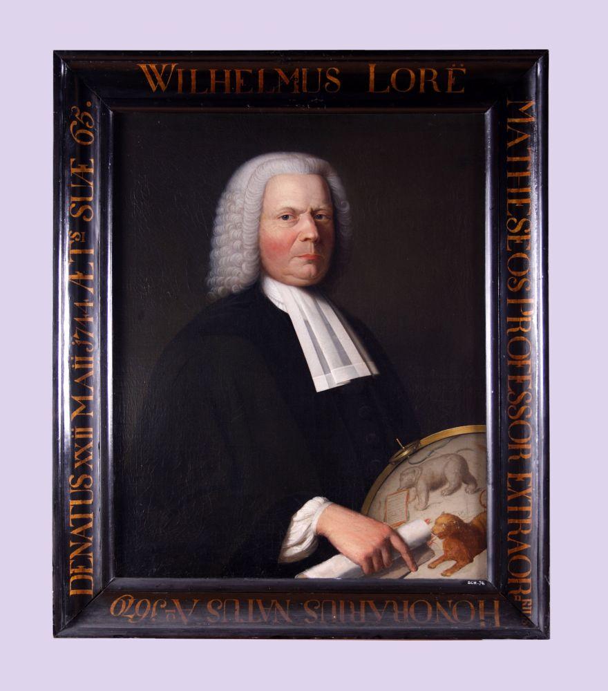 Portret van Willem Loré door Bernardus Accama