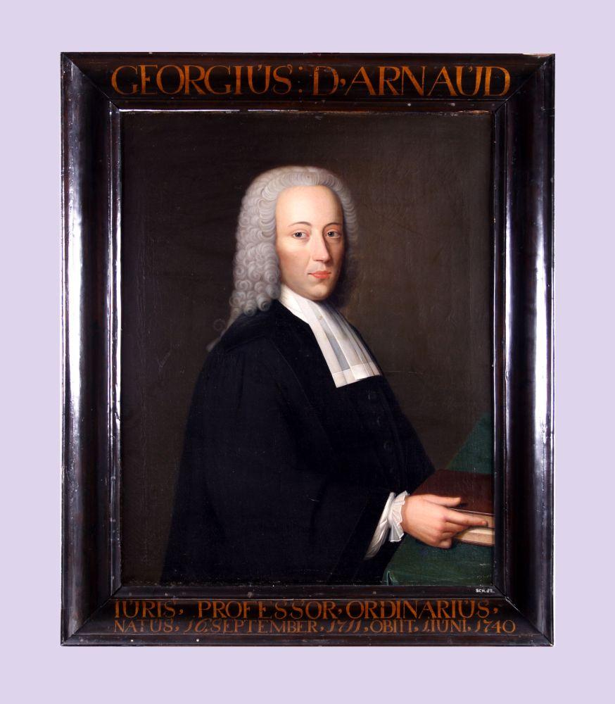 Portret van Georgius Johannes Michael d'Arnaud door Bernardus Accama