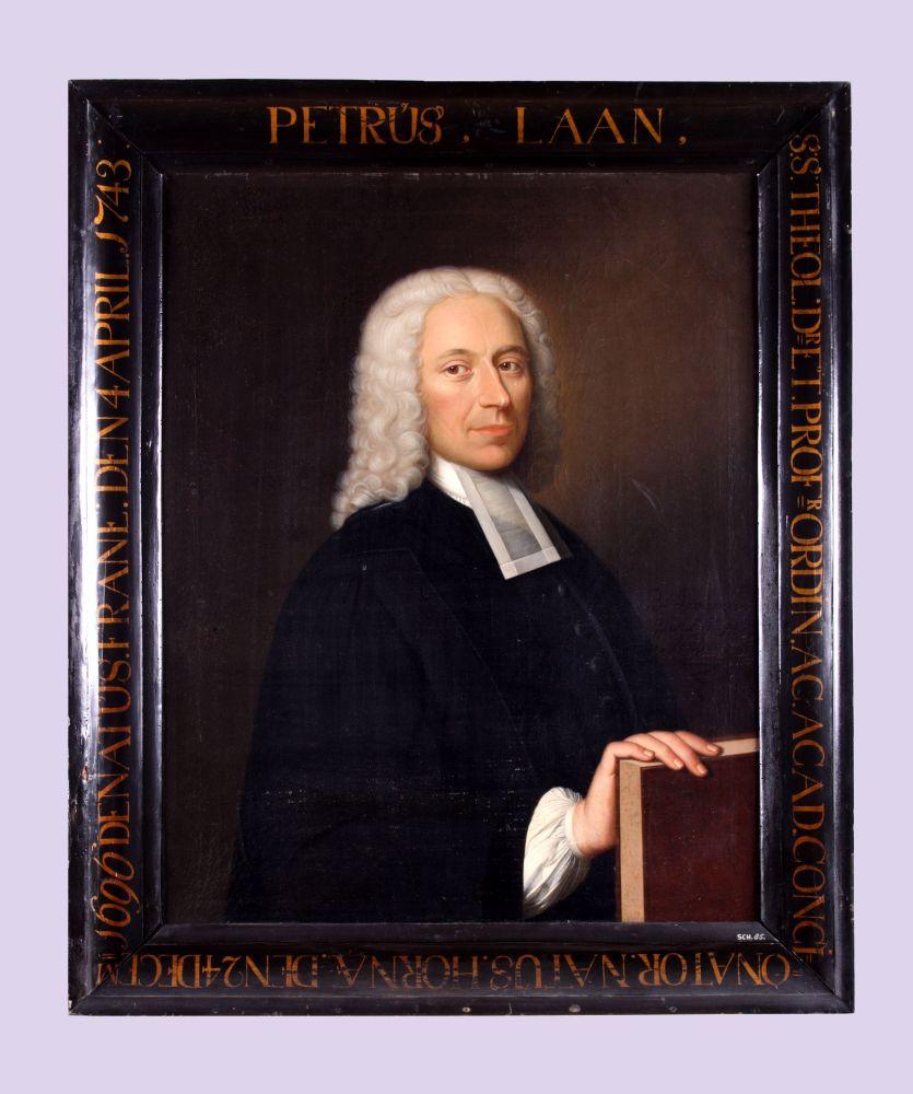 Portret van Petrus Laan door Bernardus Accama