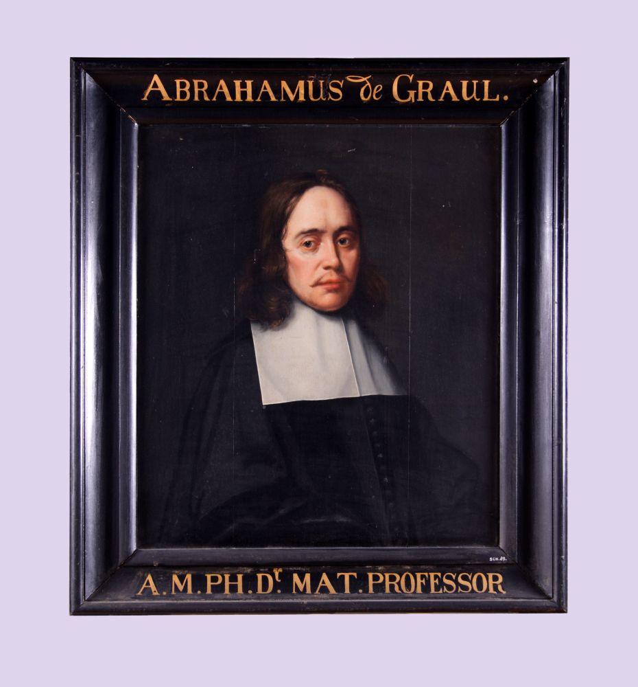 Portret van Abrahamus de Grau