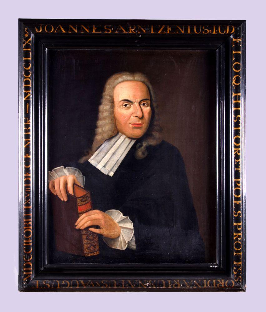 Portret van Johannes Arntzenius door Hendrik Rozenberg