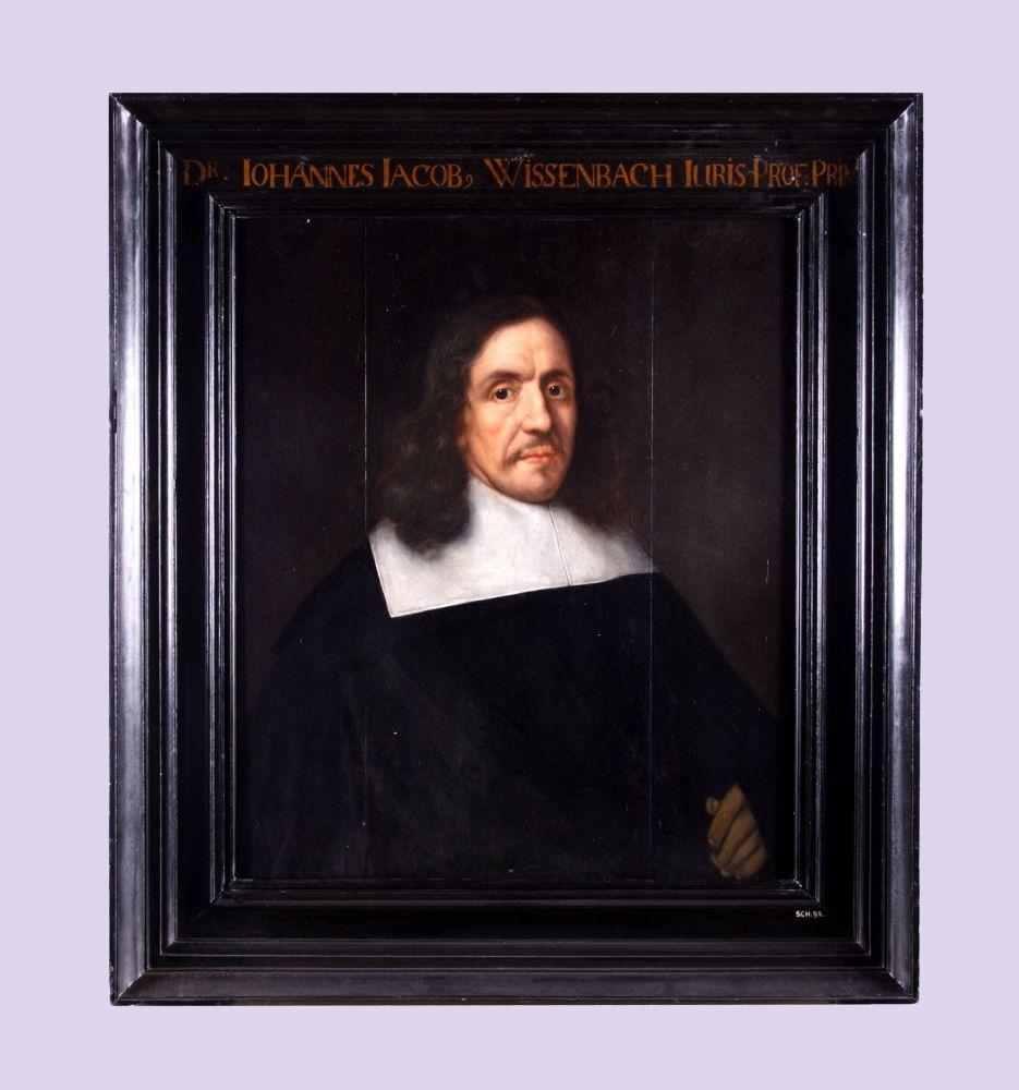 Portret van Johannes Jacobus Wissenbach